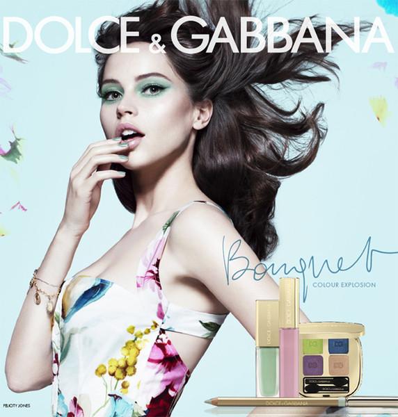 Dolce_Gabbana_Felicity_JonesBouquet_Makeup_Campaign